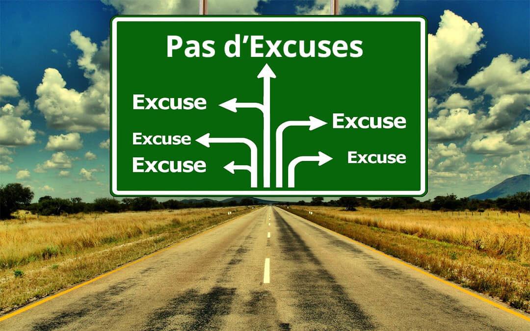 EXCUSES… TOUJOURS DES EXCUSES !